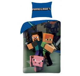 Obliečky Minecraft 140x200, 70x90