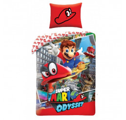 Obliečky Super Mario 140x200, 70x90