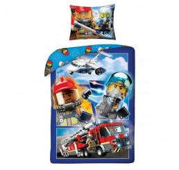 Obliečky LEGO City 140x200 cm + 70x90 cm