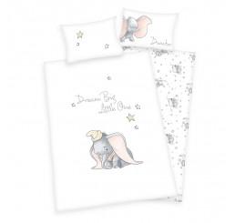 Obliečky do postieľky Dumbo Bavlna, 100x135, 40x60 cm