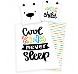 Obliečky Cool Kids 140x200, 70x90