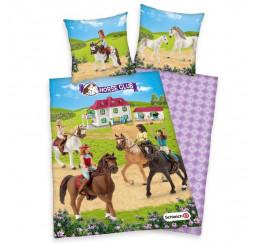 Obliečky Schleich Horse Club Bavlna, 140x200, 70x90 cm