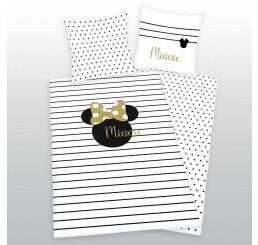 Obliečky Minnie gold 140x200,70x90