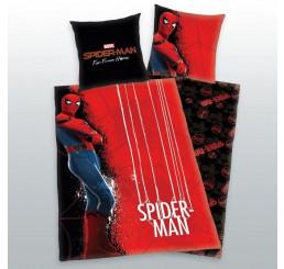 Obliečky Spiderman červený Bavlna, 140x200, 70x90 cm