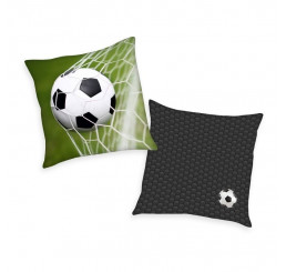 Vankúšik Futbal Polyester, 40x40 cm