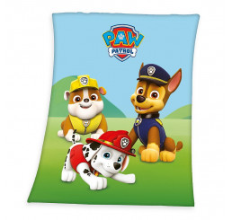 Fleece deka Paw Patrol 130x160