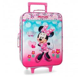 Cestovný kufor Minnie Heart Polyester, PVC, objem 25 l