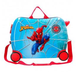 Detský kufrík na kolieskach Spiderman Street MAXI ABS plast, 50x38x20 cm, objem 34 l