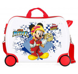 Detský kufrík na kolieskach Mickey Joy MAXI ABS plast 34 l
