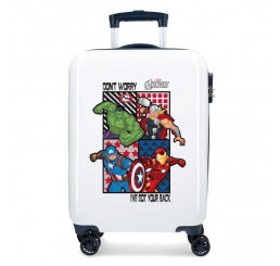 Cestovný kufor All Avengers ABS plast, 55x34x20 cm, objem 33 l