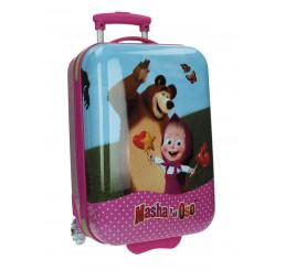 Cestovný kufor Máša a Medveď 34 l