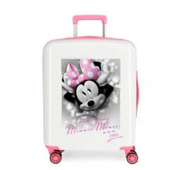 Cestovný kufor Minnie Style with love ABS plast, 55x40x20 cm, objem 38,4 l