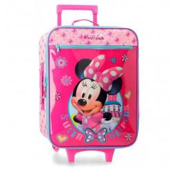 Cestovný kufor Minnie Super Helpers Polyester, PVC, objem 25 l