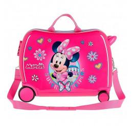 Detský kufrík na kolieskach Minnie Super Helpers MAXI ABS plast, 50x38x20 cm, objem 34 l