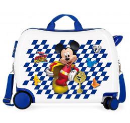 Detský kufrík na kolieskach Mickey Good Mood MAXI ABS plast 34 l
