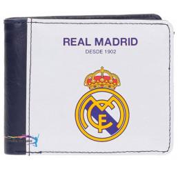 Peňaženka Real Madrid biela 10x8