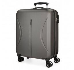 Cestovný kufor Roll Road Camboya Grey ABS plast, 55x40x20 cm, objem 36 l