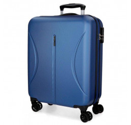 Cestovný kufor Roll Road Camboya Blue ABS plast, 55x40x20 cm, objem 36 l