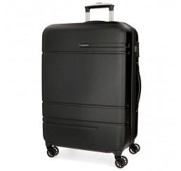 Cestovný kufor MOVOM Galaxy Black ABS plast, 78x53x31, objem 108 l