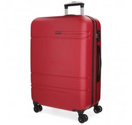 Cestovný kufor MOVOM Galaxy Red ABS plast, 78x53x31, objem 108 l