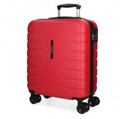 Cestovný kufor MOVOM Turbo Red ABS plast, 55x40x20 cm, objem 37 l