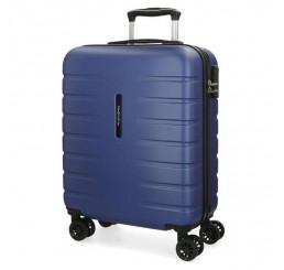 Cestovný kufor MOVOM Turbo Blue ABS plast, 55x40x20 cm, objem 37 l