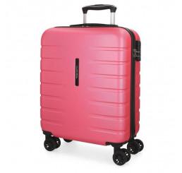 Cestovný kufor MOVOM Turbo Pink ABS plast, 55x40x20 cm, objem 37 l