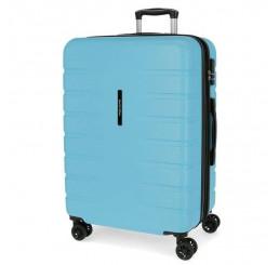 Cestovný kufor MOVOM Turbo Sky Blue ABS plast, 69x49x28 cm, objem 80 l