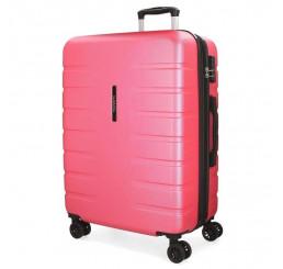 Cestovný kufor MOVOM Turbo Pink ABS plast, 69x49x28 cm, objem 80 l