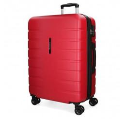 Cestovný kufor MOVOM Turbo Red ABS plast, 79x56x33 cm, objem 125 l