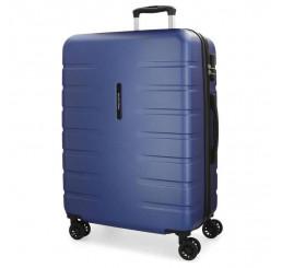 Cestovný kufor MOVOM Turbo Blue ABS plast, 79x56x33 cm, objem 125 l