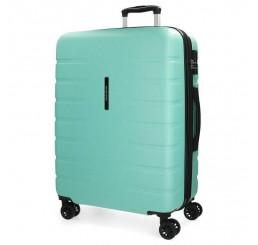 Cestovný kufor MOVOM Turbo Turquoise ABS plast, 79x56x33 cm, objem 125 l