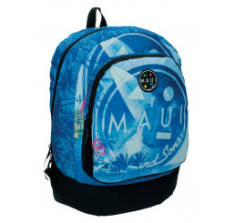 Batoh Maui and Sons Blue Polyester 43x33x15 cm
