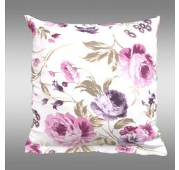 Bavlnená obliečka na vankúš Provence Daniela fialová 40x40 cm