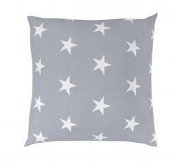 Obliečka na vankúš DELUX STAR sivá Bavlna, 40x40 cm