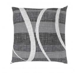 Obliečka na vankúš DELUX VALERY sivá Bavlna, 40x40 cm