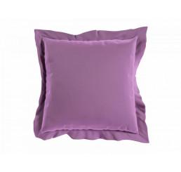 Saténová obliečka na vankúš fialová 40x40 cm