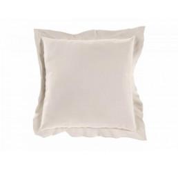 Saténová obliečka na vankúš biela 40x40 cm