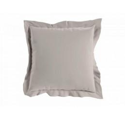 Saténová obliečka na vankúš svetlo šedá 40x40 cm