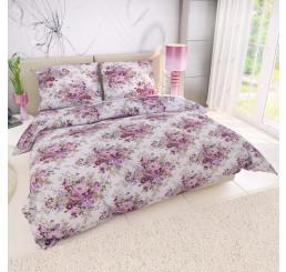 Obliečky PROVENCE ESTER ružová Bavlna, 140x200 cm