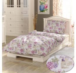 Obliečky Provence Leotýna ružová bavlna 140x200, 70x90