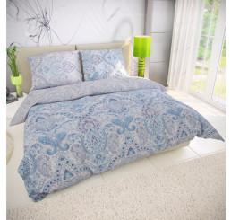 Obliečky PALIZA modrá Bavlna, 140x200 cm
