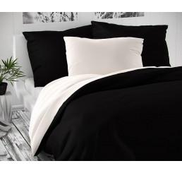 Saténové obliečky Luxury Collbiele čierne 140x220, 70x90
