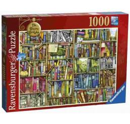Puzzle Bizarná knižnica 1000 dielikov