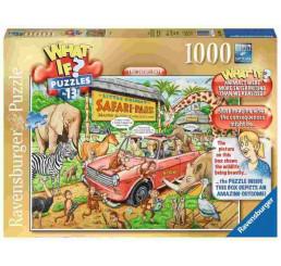 Puzzle What If 13 Safari 1000 dielov cm