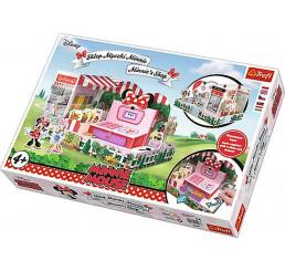 Papier 3D puzzle Obchod Minnie