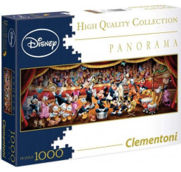 Panoramatické puzzle Disney orchester 1000 dielikov