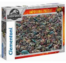 Puzzle Jurský svet Impossible 1000 dielikov