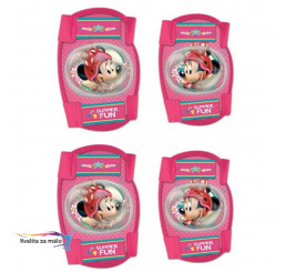 Chrániče kolien a lakťov Minnie Mouse