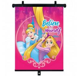 Slnečná clona Roletka Disney Princezné Plast, Polyester, 1ks cm